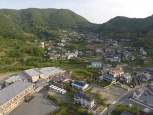 仁方戸田町(小須磨)の集落