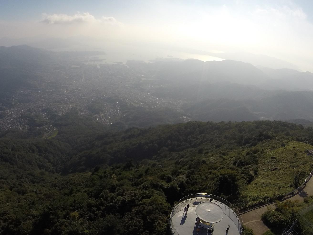 呉市 灰ヶ峰山頂 |