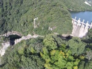 二級ダムと二級峡