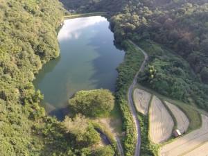 昭和池 高度70m