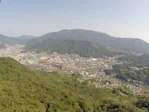 野呂山方面