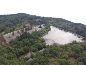 野呂山ビジターセンターと氷池 No.1