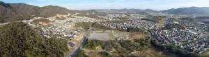 楢原のパノラマ写真