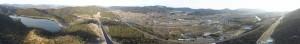 黒瀬町のパノラマ写真