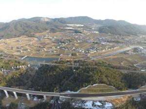 東広島呉道路と黒瀬町